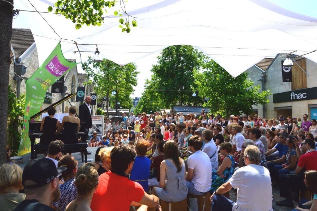 Le festival Opéra Côté Cour revient en septembre à Bercy Village !