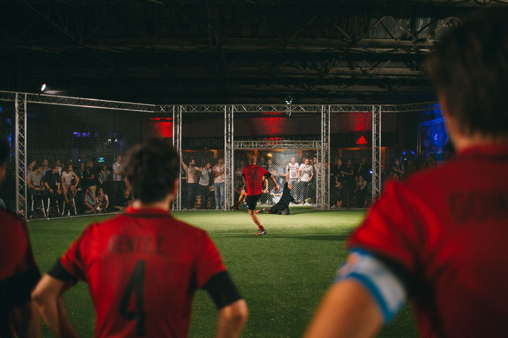 Le football d'un nouveau genre