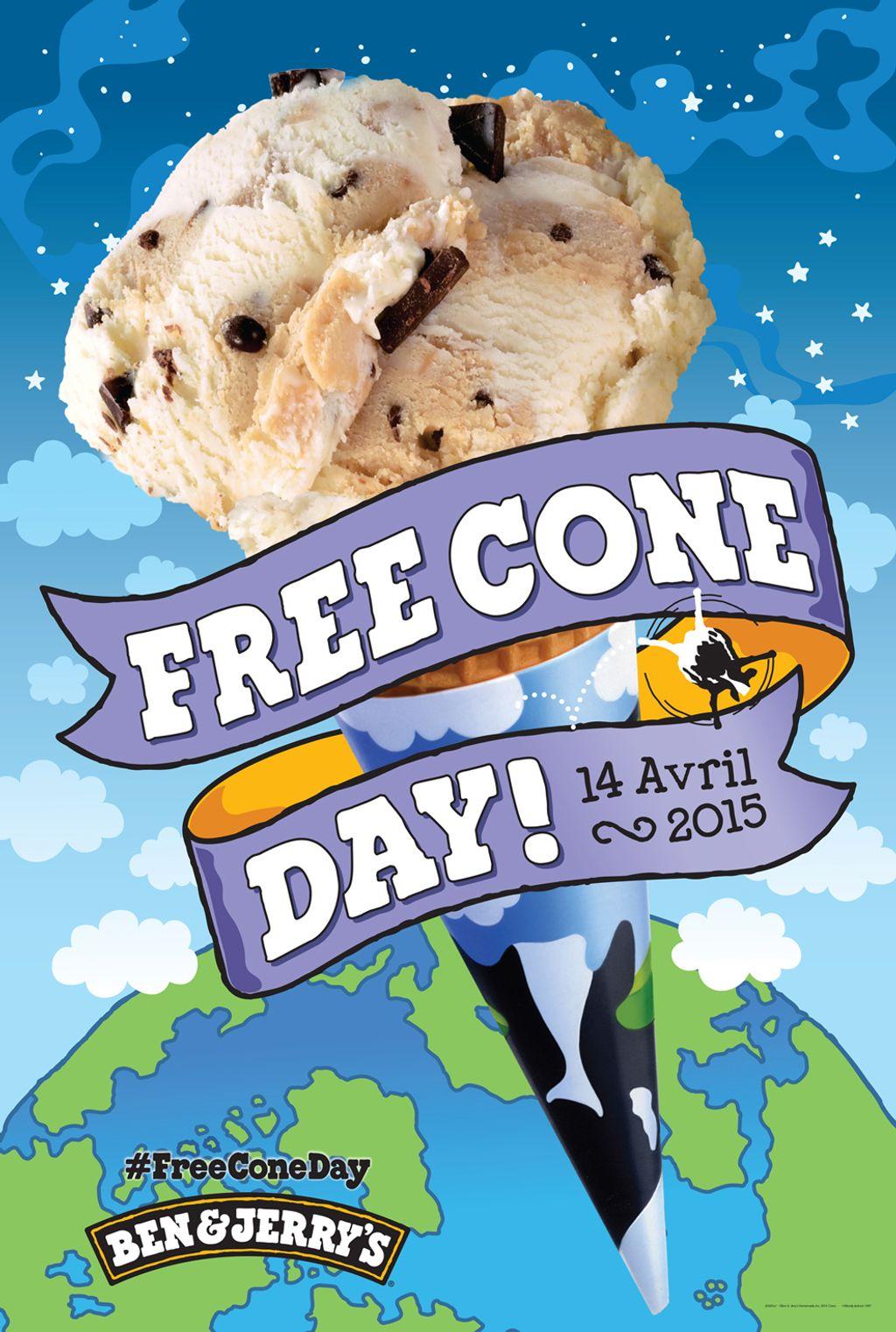 Le Free Cone Day, c'est mardi !