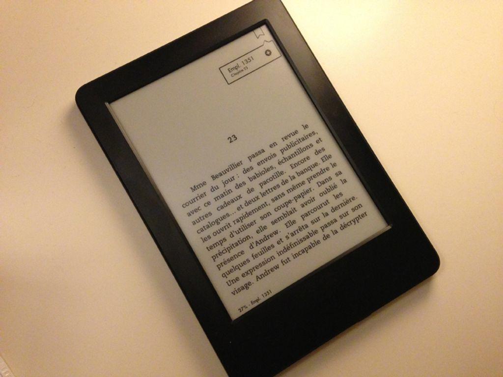Le Kindle et moi : le début d'une love story ?