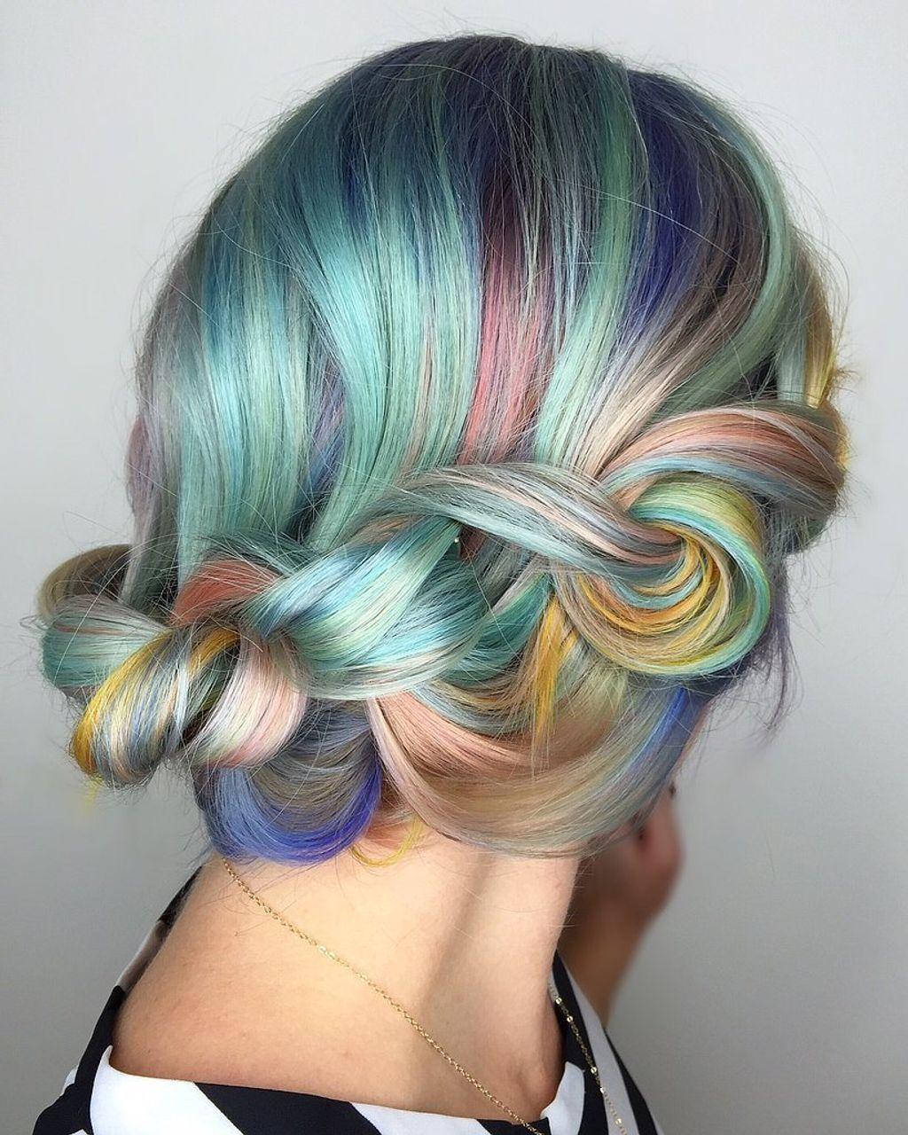 Le Macaron Hair, la jolie tendance de l'hiver