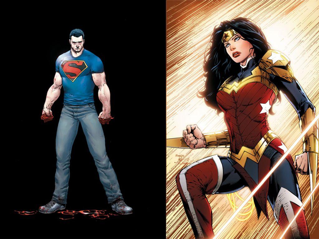 Le relooking de Wonder Woman et Superman