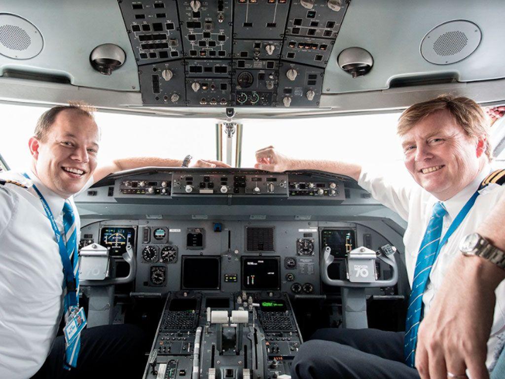 Le roi des Pays-Bas pilote en secret chez KLM depuis 20 ans