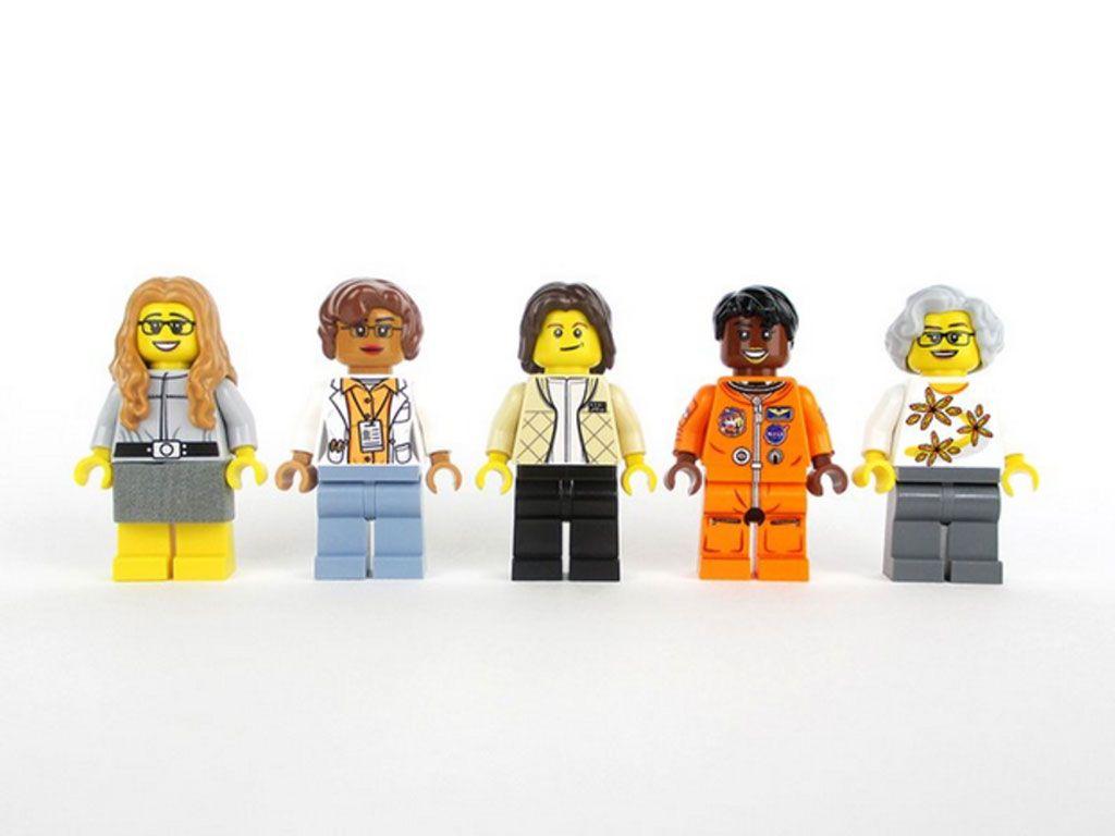 Lego rend hommage à 5 femmes de la NASA en créant des figurines à leur effigie