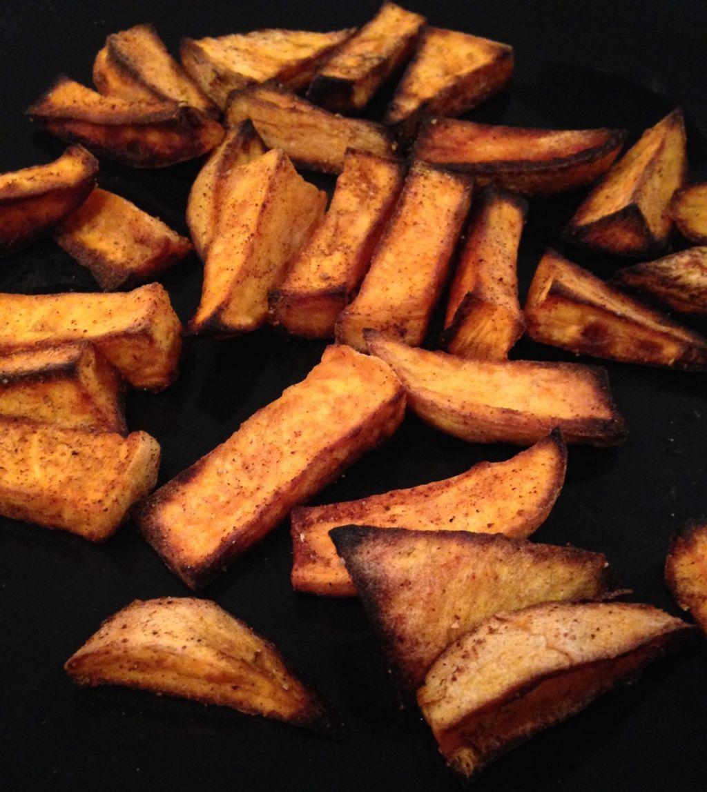 Les frites de patate douce