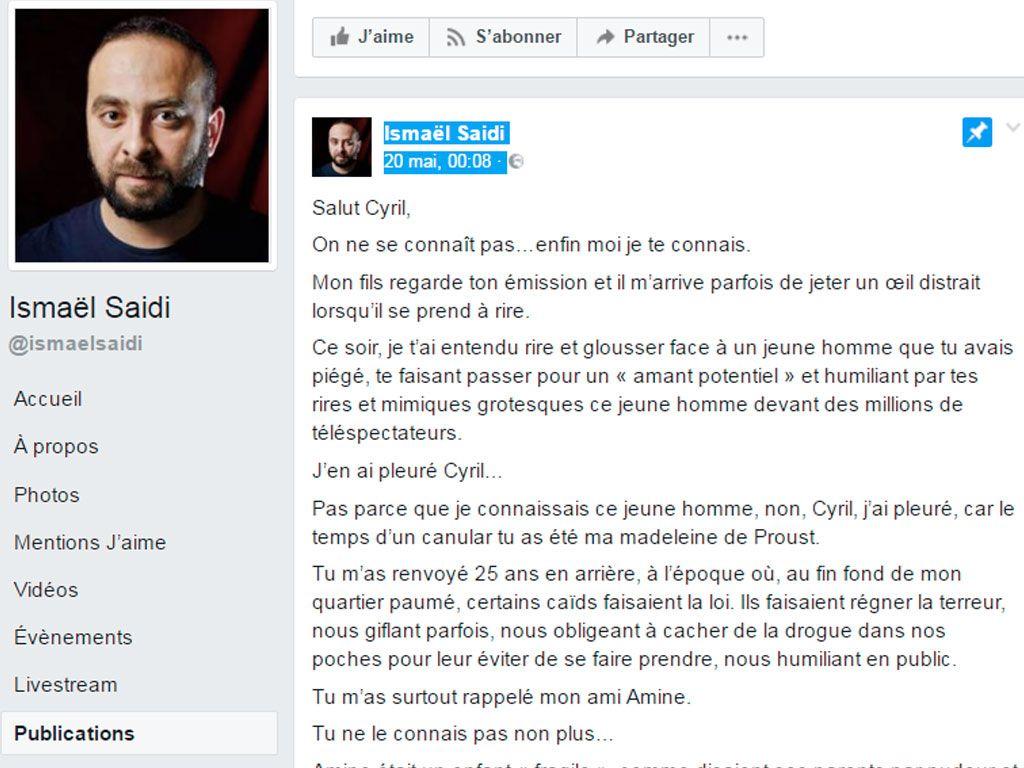 Lettre ouverte à Cyril Hanouna sur son canular homophobe