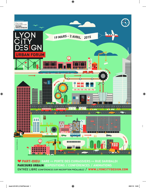 LYON CITY DESIGN Urban Forum : Rendez-vous du 19 mars au 2 avril dans le quartier Part-Dieu