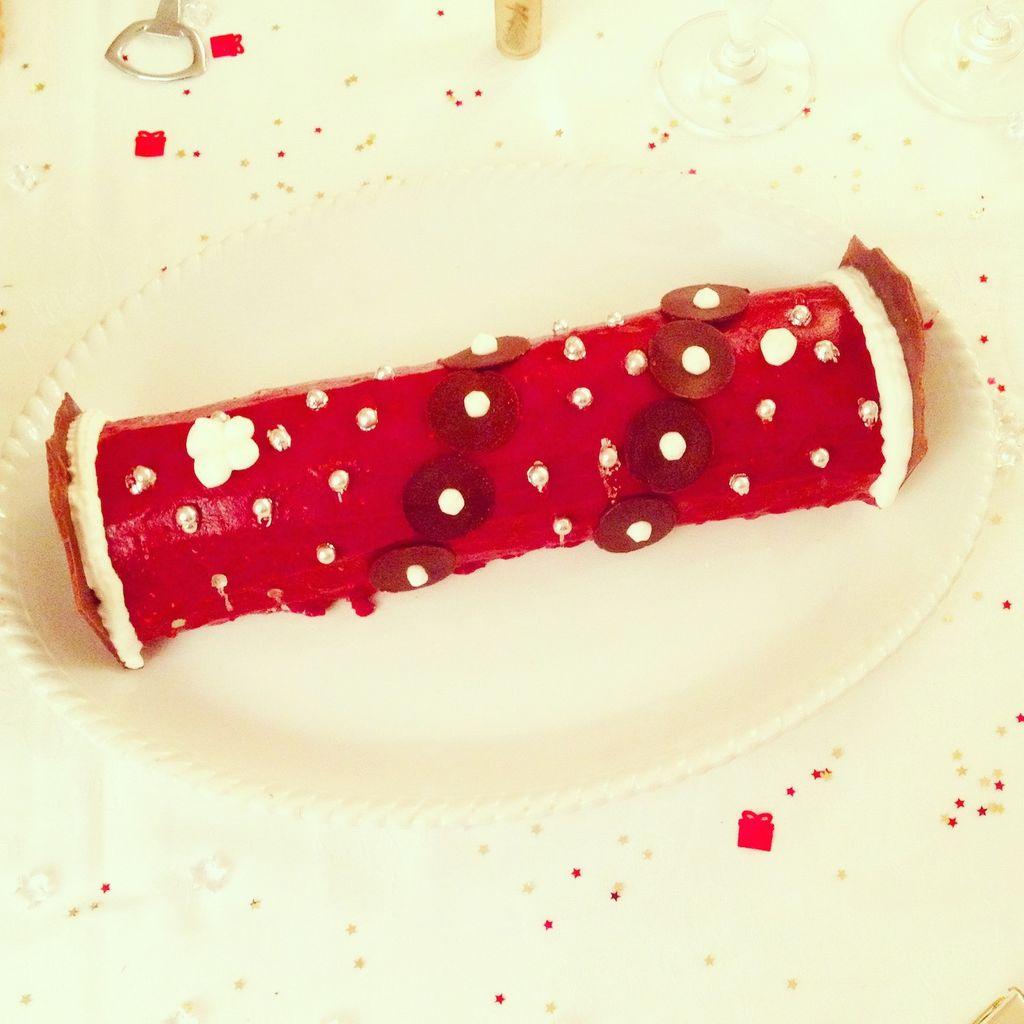 Ma buche de Noël légère, légère, légère et délicieuse