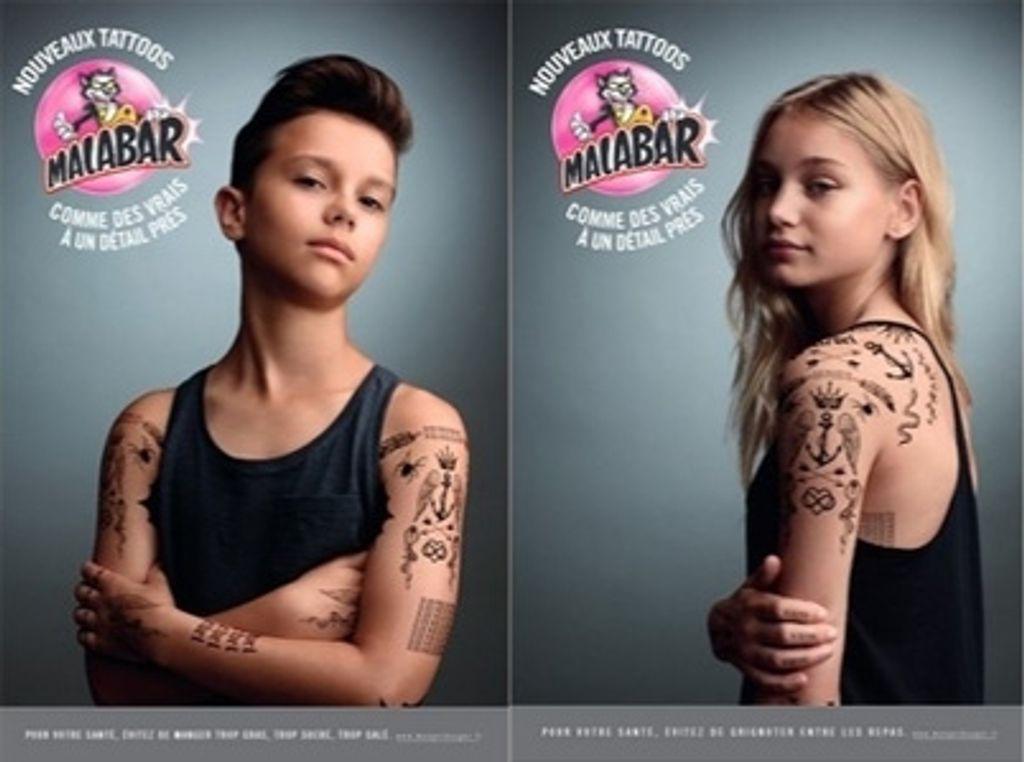 Malabar renouvelle ses tatouages et c'est chouette !