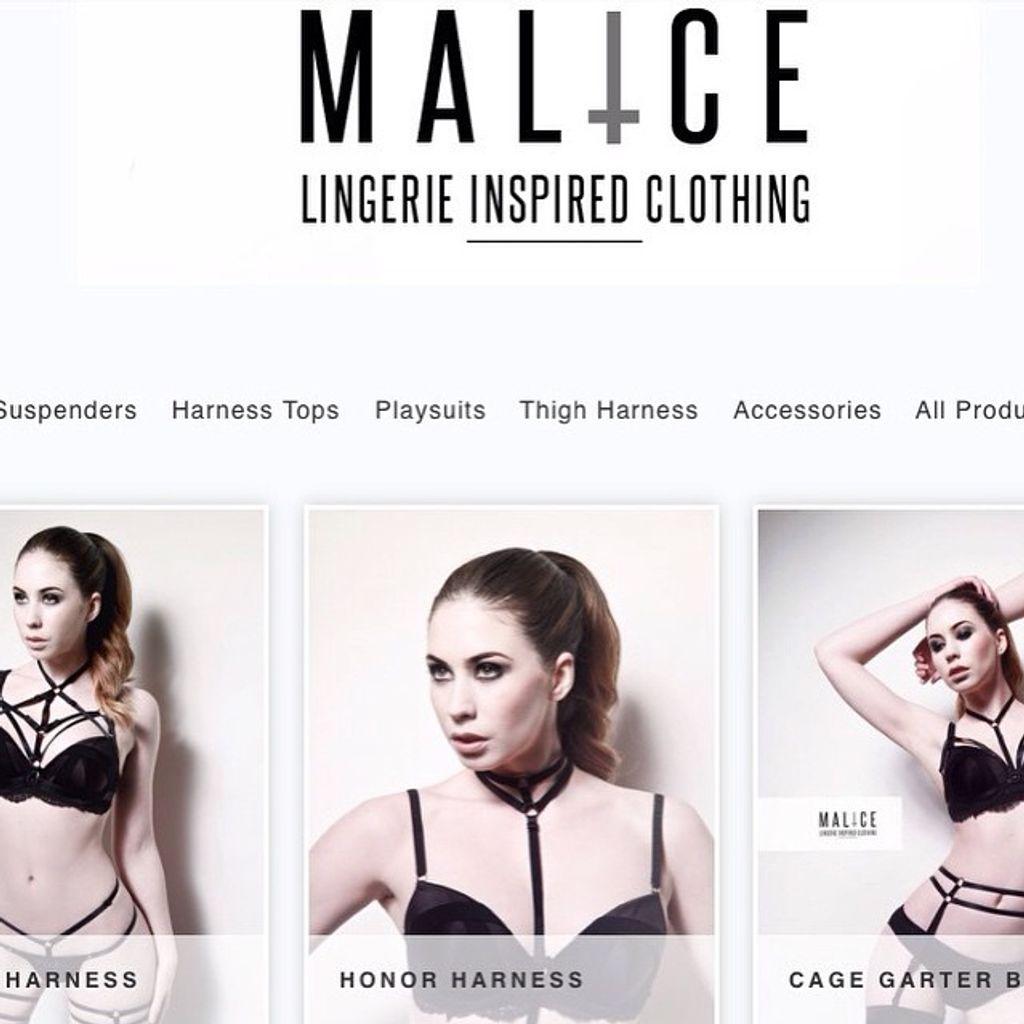 Malice Lingerie... BDSM