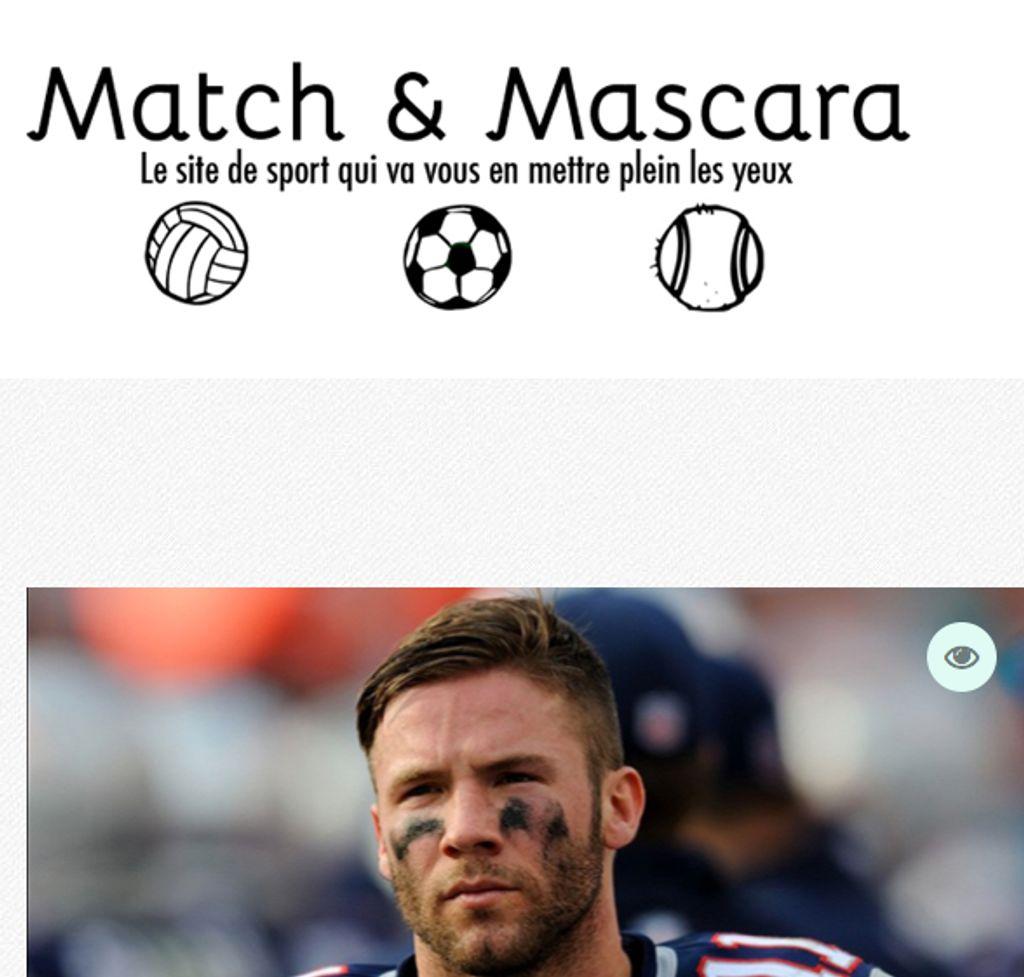 Match et Mascara, le nouveau blog sport à suivre