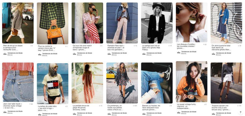 Mes 10 comptes Pinterest Mode préférés