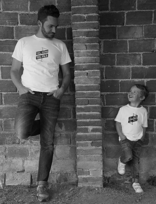 Mon Paternel dévoile sa nouvelle collection de sweats et t-shirts pour pères et fils