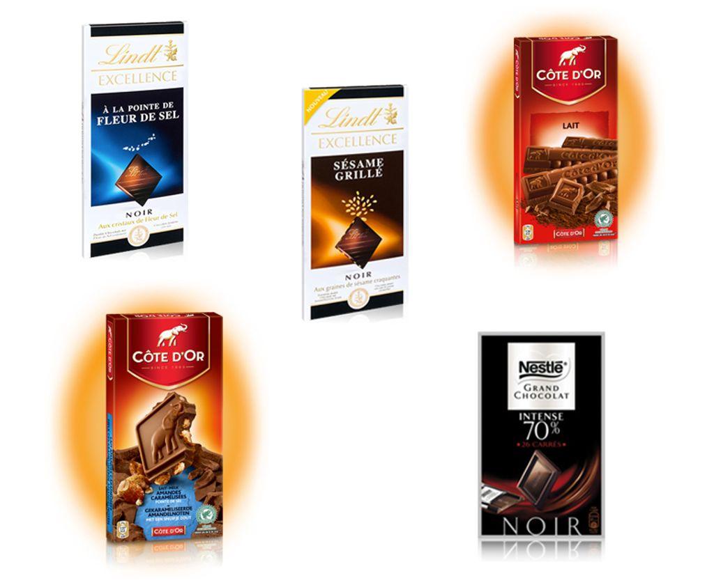 Mon top 5 des chocolats vendus en supermarché