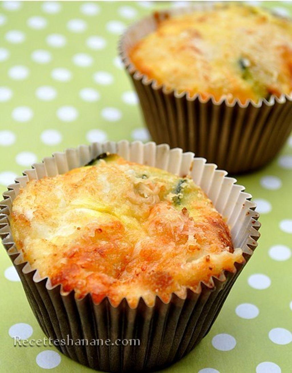 Muffins courgettes et citron vert