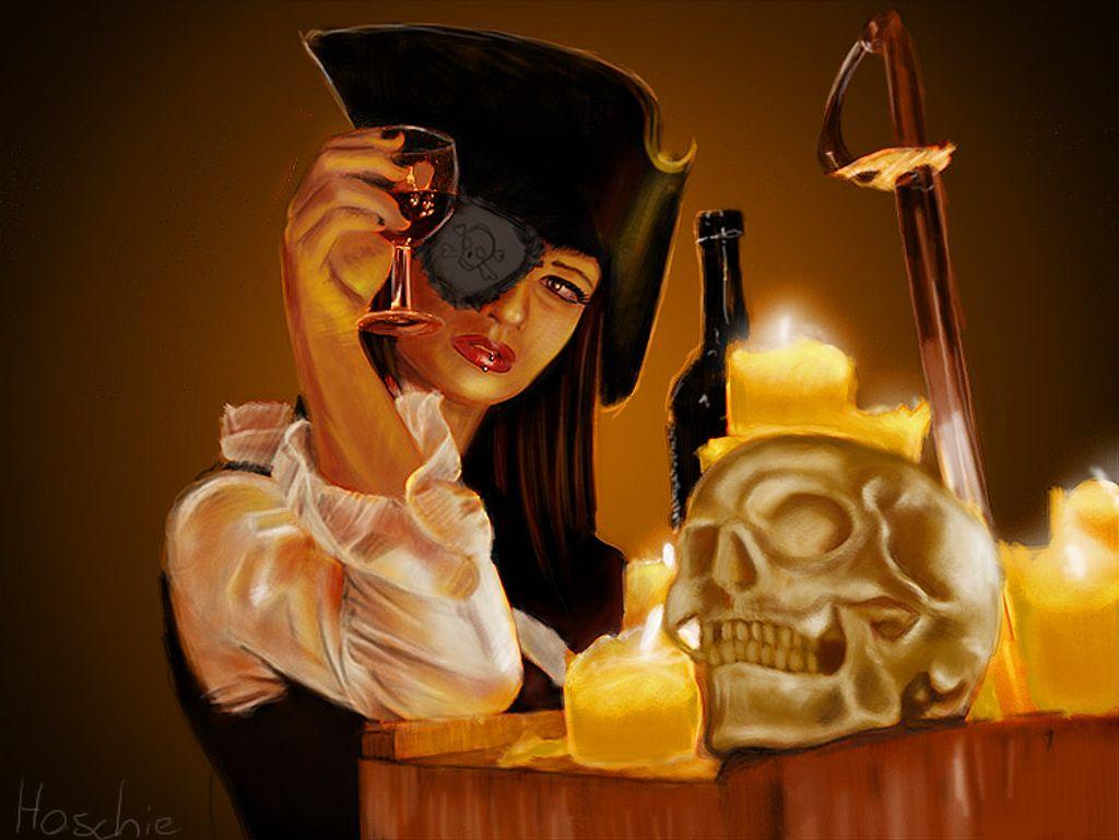 On se déguise en pirate sexy pour faire peur aux hommes le soir d'Halloween !