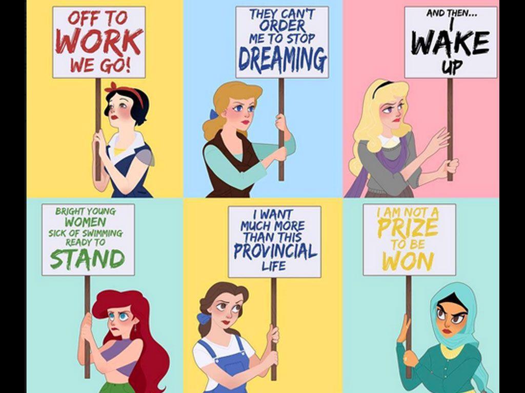 Oui, les princesses Disney peuvent être féministes