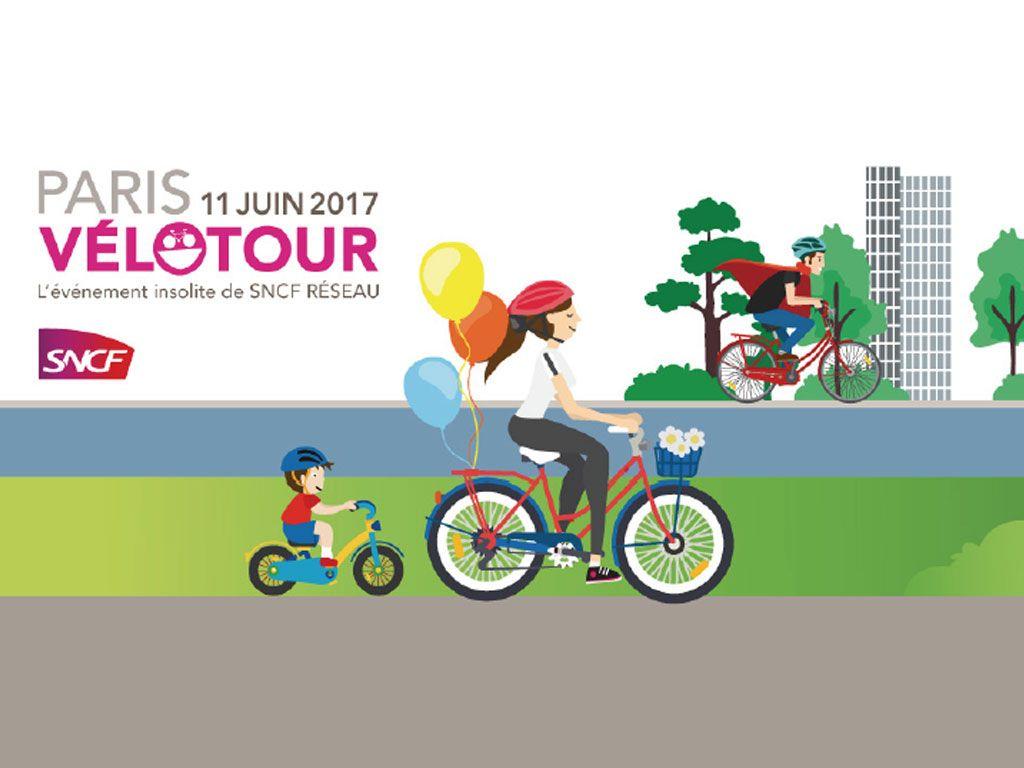 Participez au Vélotour, pour découvrir un Paris insolite en famille et en vélo !