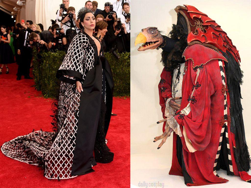Quand Lady Gaga ressemble à un Seksès