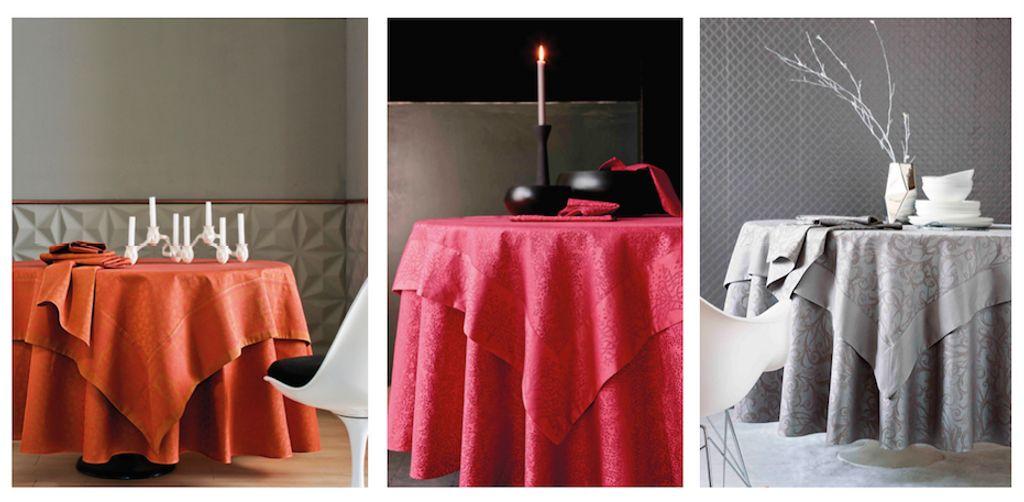 Quelles nappes pour de jolies tables de fêtes ?