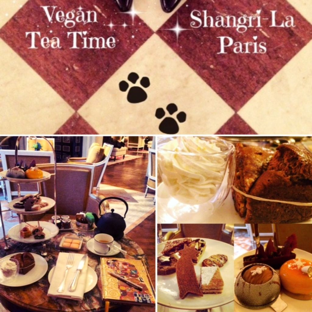 Tea time 100% Vegan au Shangri-La, Paris