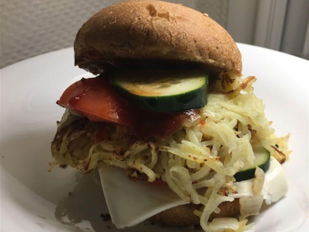 Un burger végétarien ultra-simple !