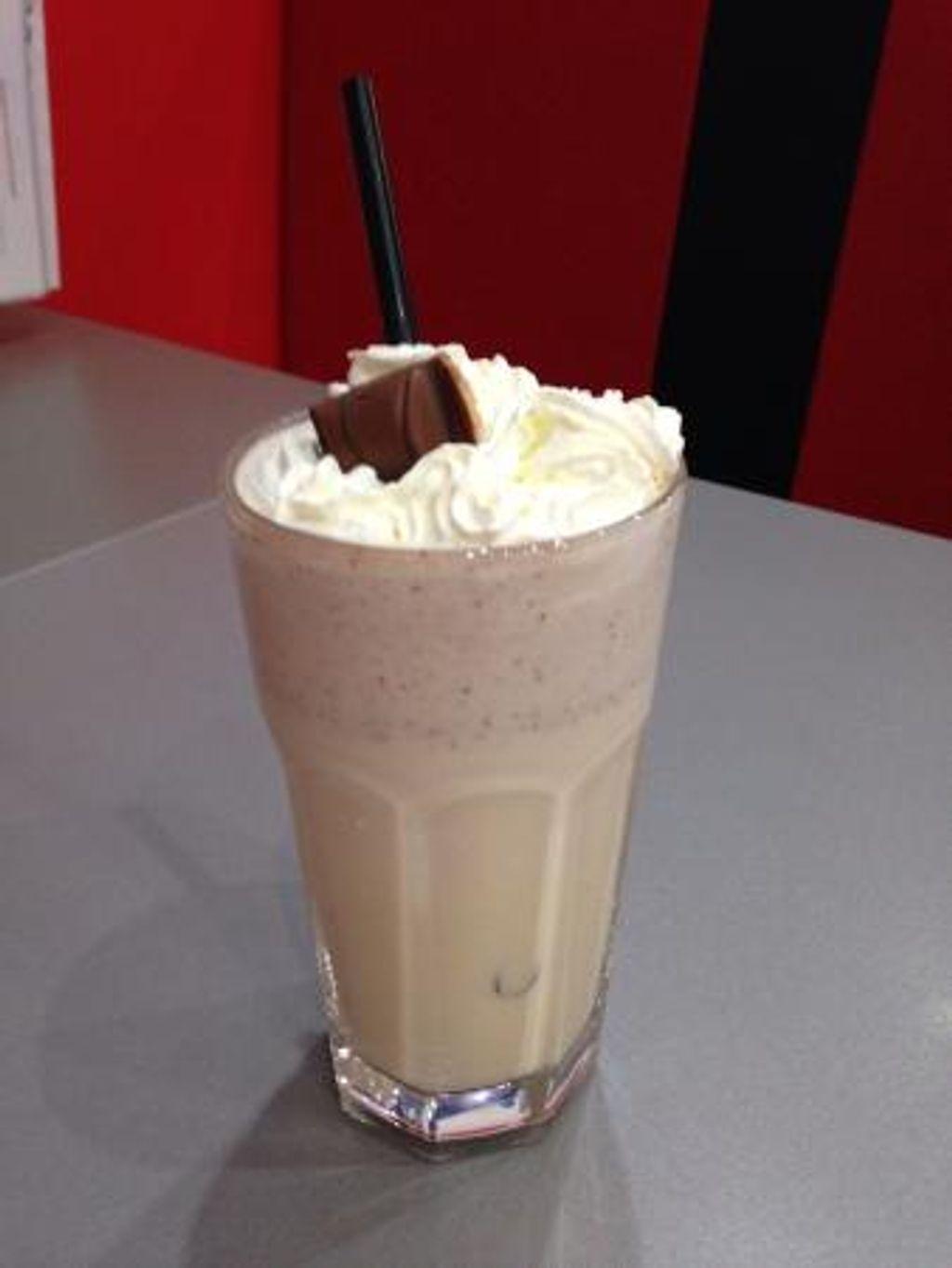 Un milk-shake au Kinder Bueno