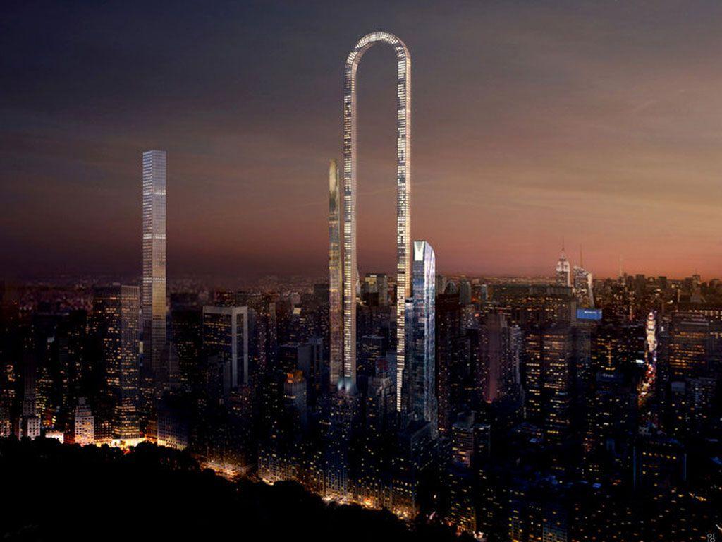Un nouveau gratte-ciel est prévu à NY et il a une forme incroyable