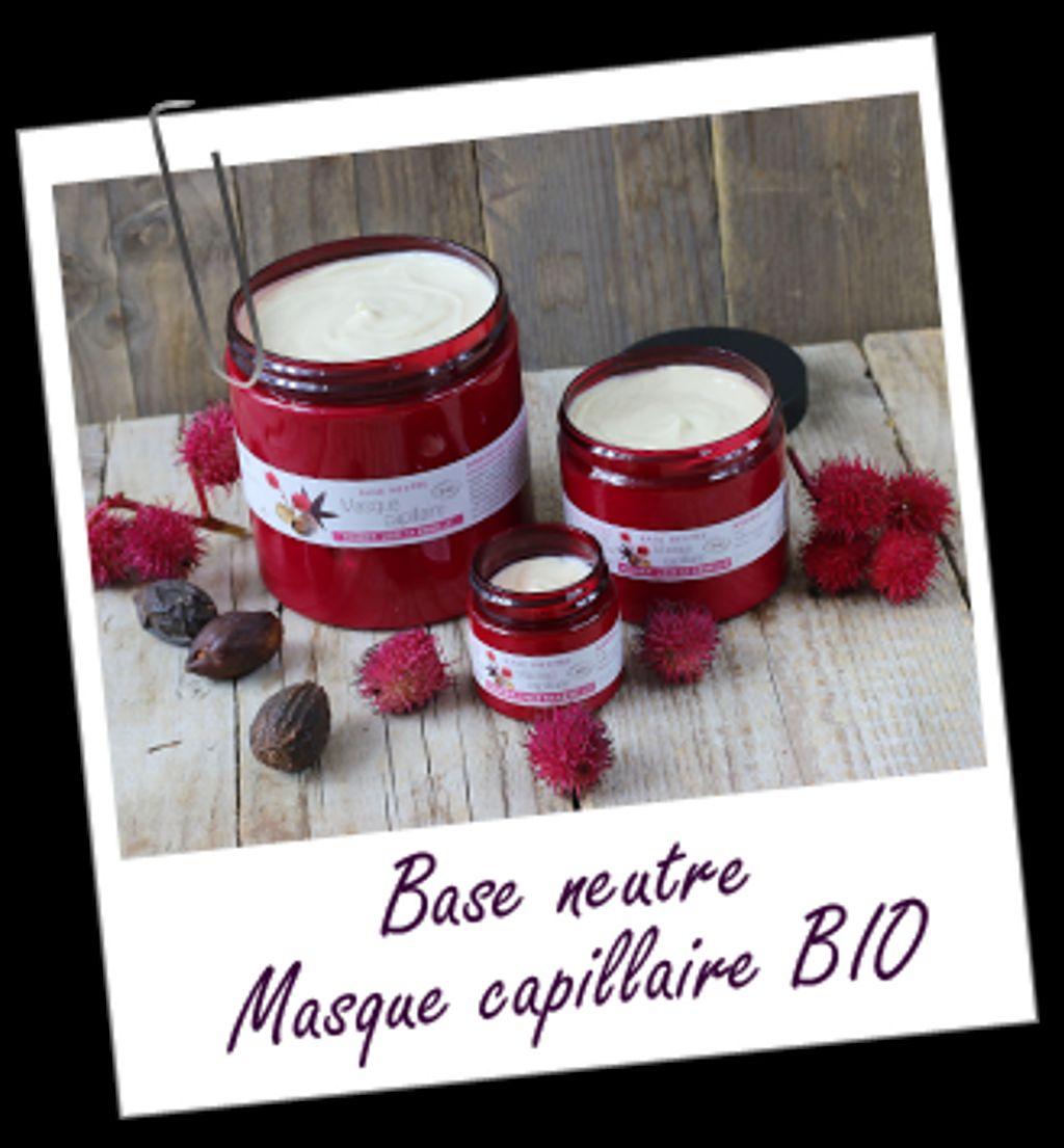 Un pot de base masque capillaire BIO offert chez Aroma-Zone