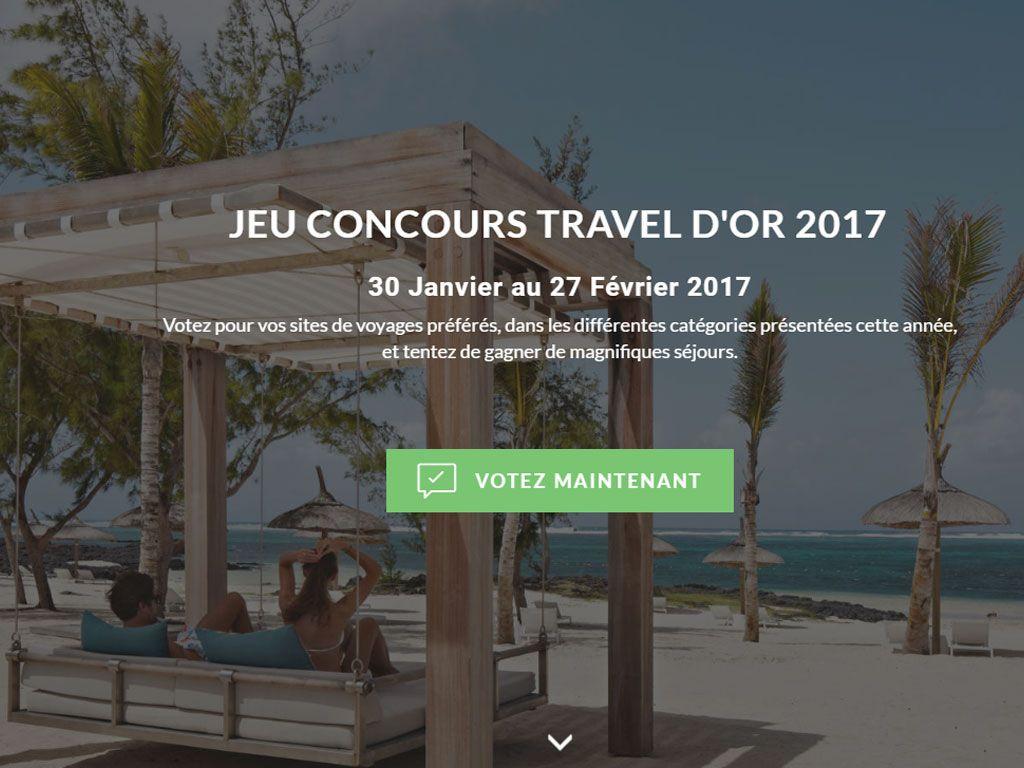 Gagnez un voyage à l'ile Maurice ou des billets avion A/R pour Tahiti