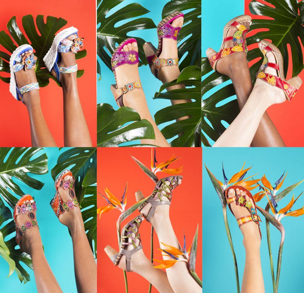 Une campagne printemps été 2015 haute en couleurs pour Laura Vita!