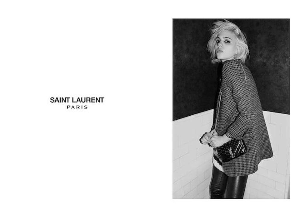 Une nouvelle campagne très Rock'n'Roll du côté de la maison Saint Laurent.