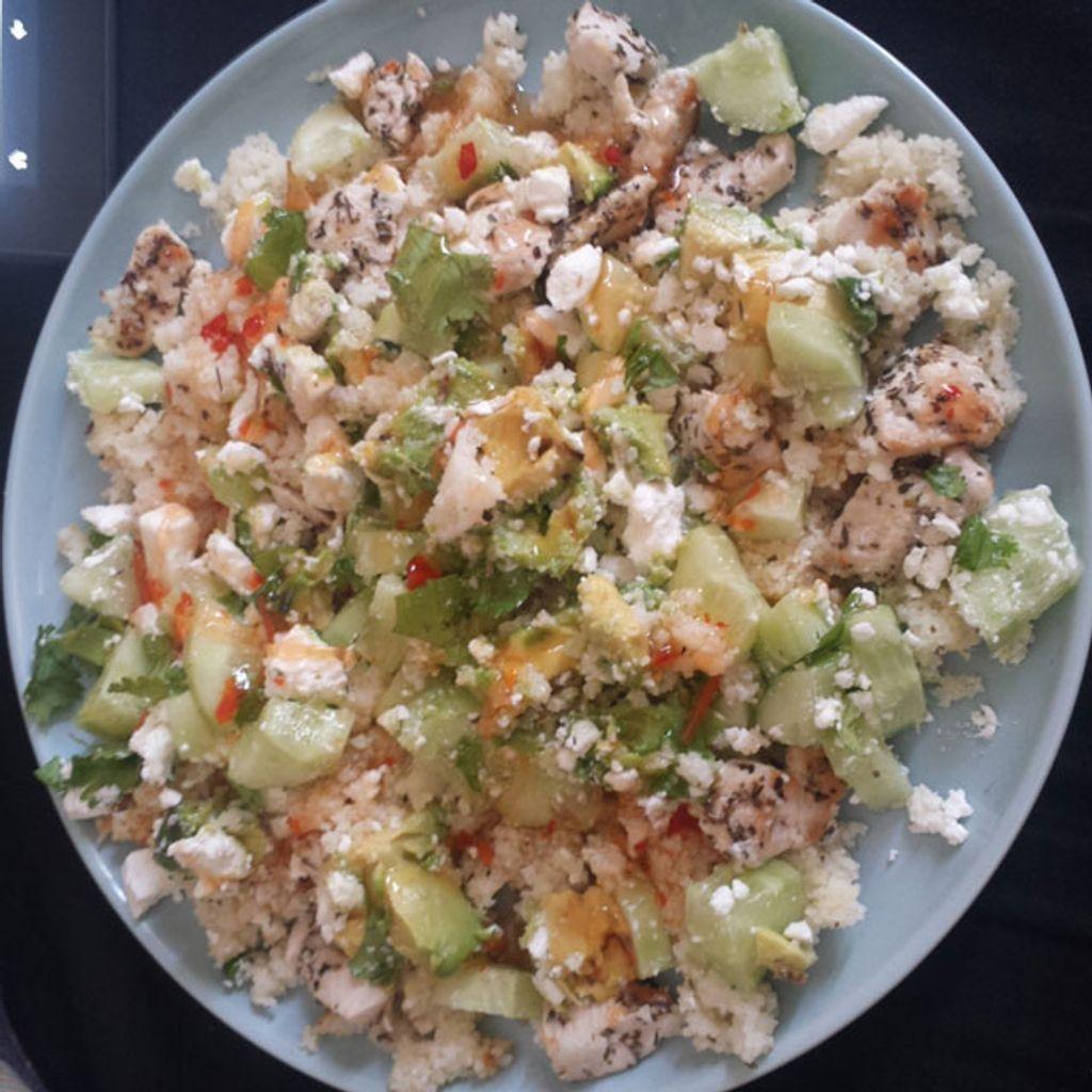 Une petite salade parfaite pour les soirées d'été