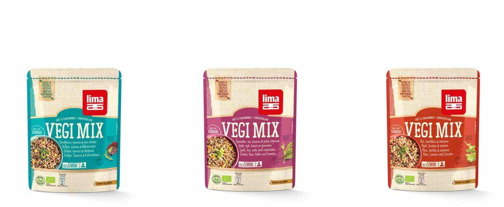 « Vegi Mix » by Lima, un mélange végan de céréales BIO prêtes à l'emploi pour un repas sain & complet