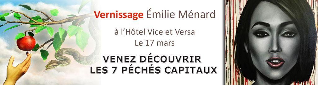 Vernissage Emilie Ménard