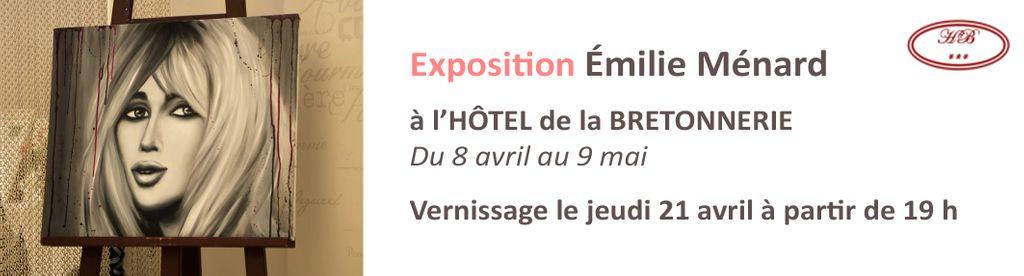Vernissage Emilie Ménard, hôtel de la Bretonnerie