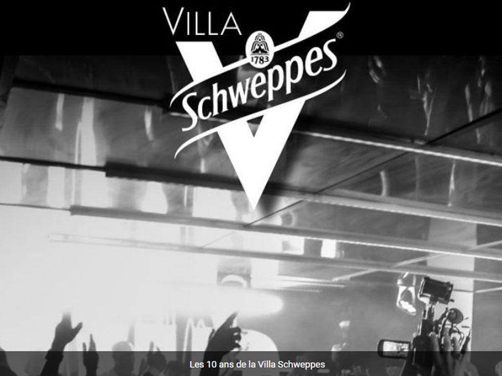 Villa Schweppes à Cannes : demandez le programme !