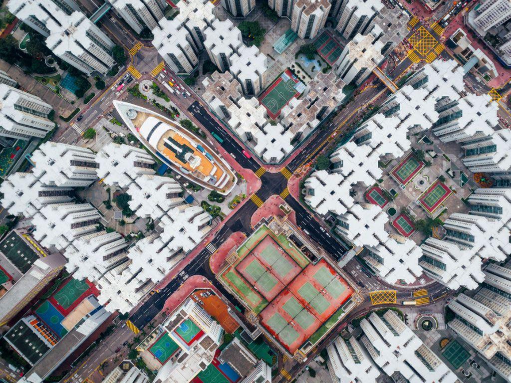 Vues imprenables sur Hong Kong