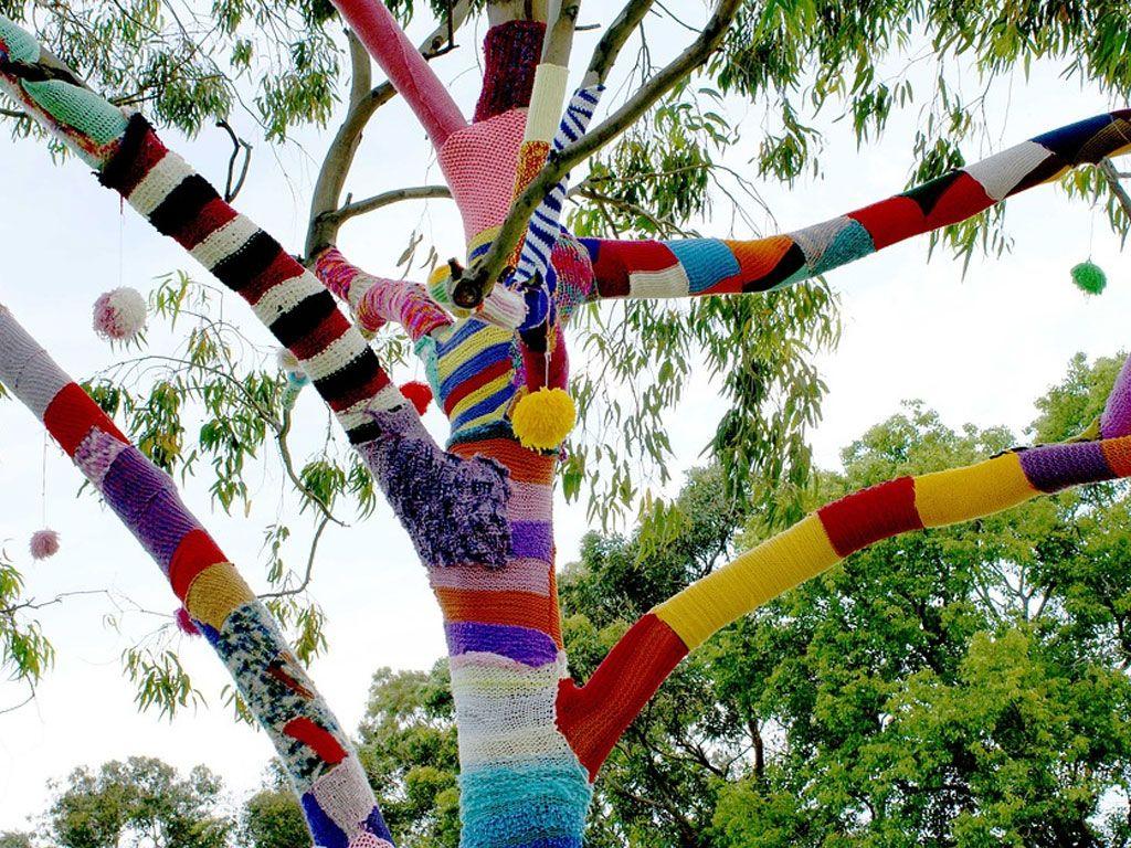 Yarn Bombing, le nouveau street art