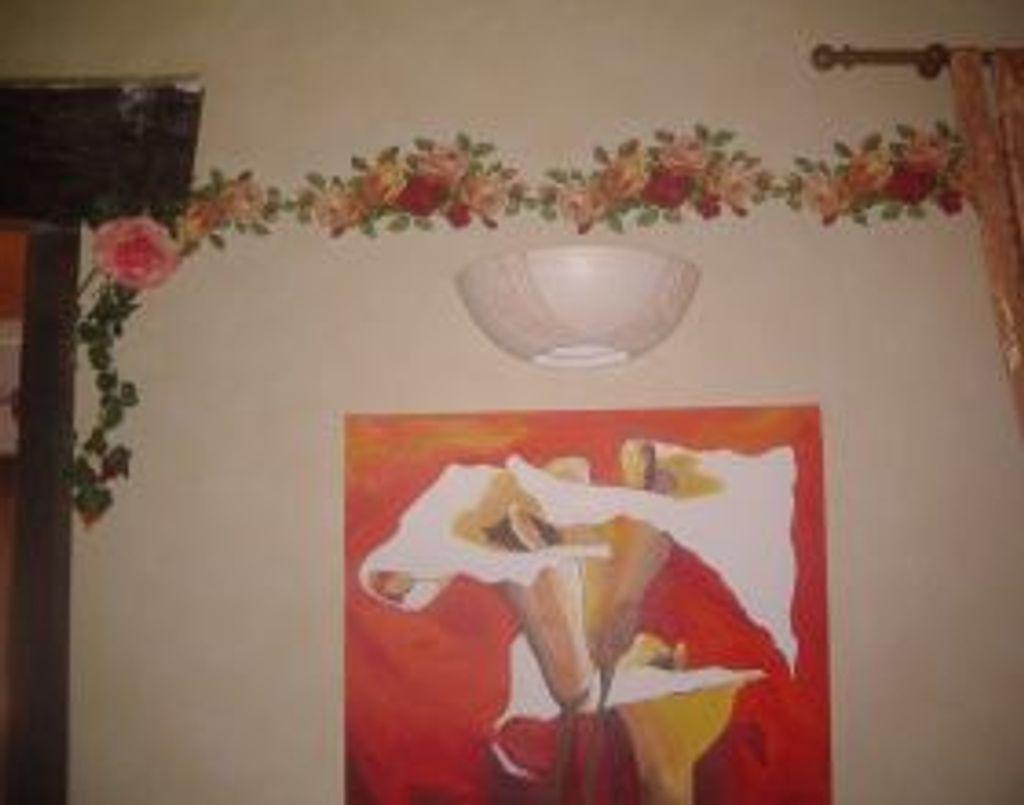 !!!  frise murale  faite maison !!!