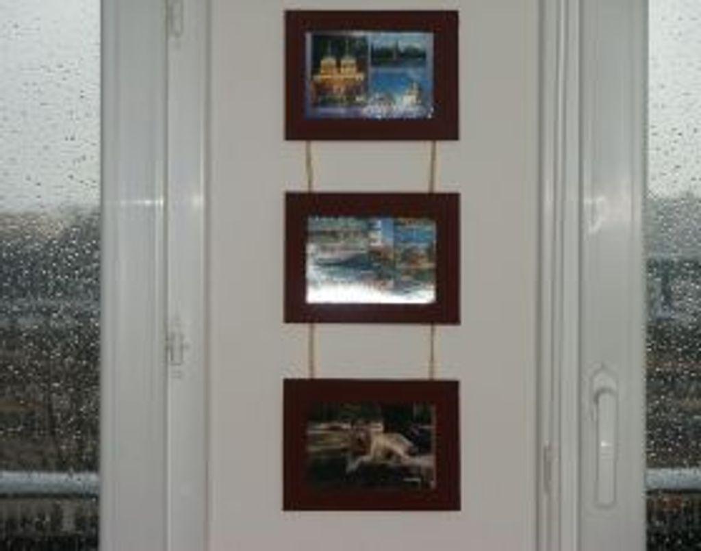 Cadres photos suspendus