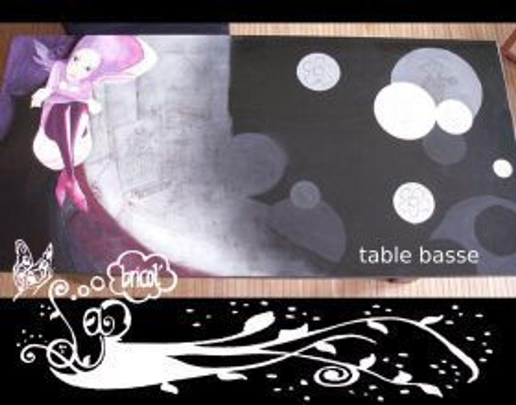 Table basse 'à la manga'