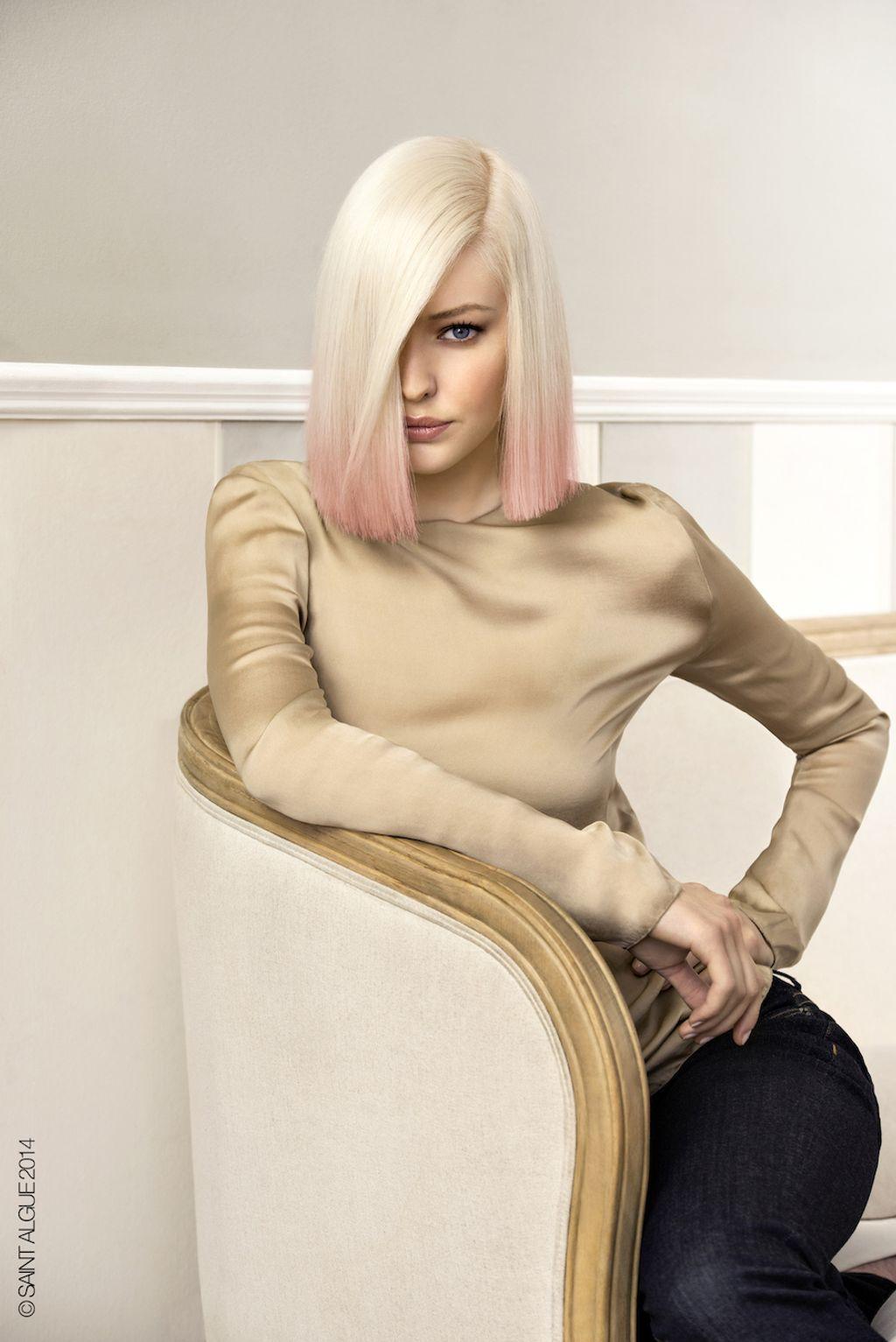 Coloration : la tendance de l'automne-hiver est au blond platine