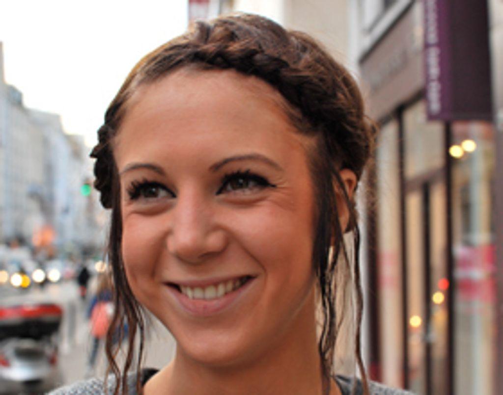 Street Beauty : on a repéré la coiffure de Mélanie !