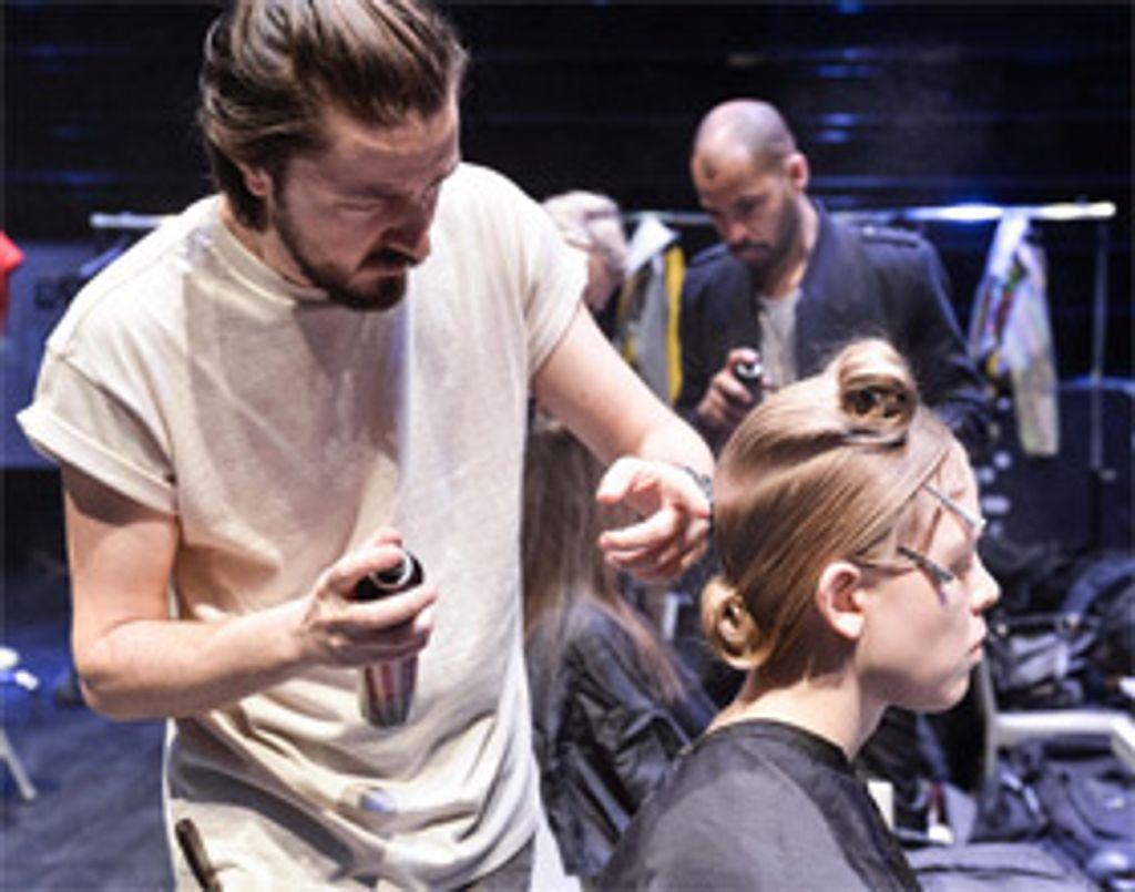 Interview avec Marco Iafrate, coiffeur de défilés