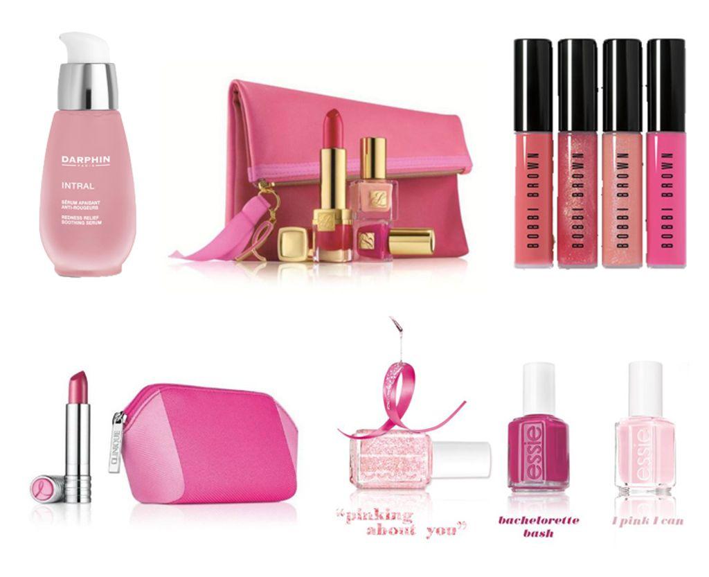 Octobre Rose : 5 produits de beauté pour lutter contre le cancer du sein