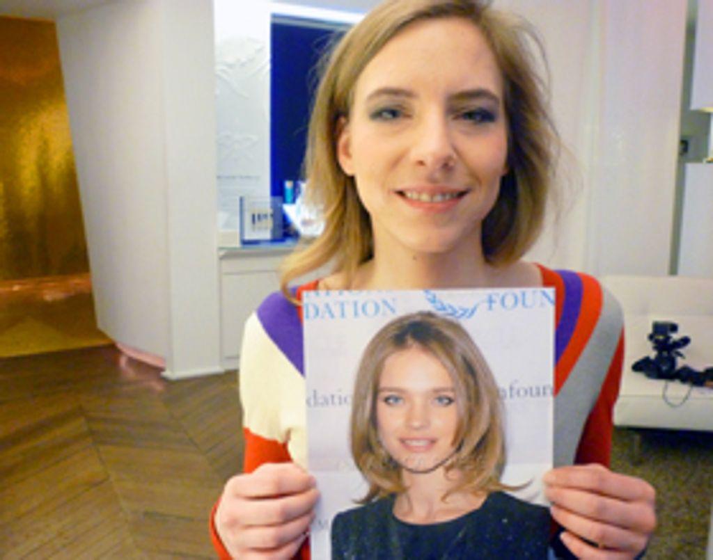 Vidéo : je veux le make-up de... Natalia Vodianova