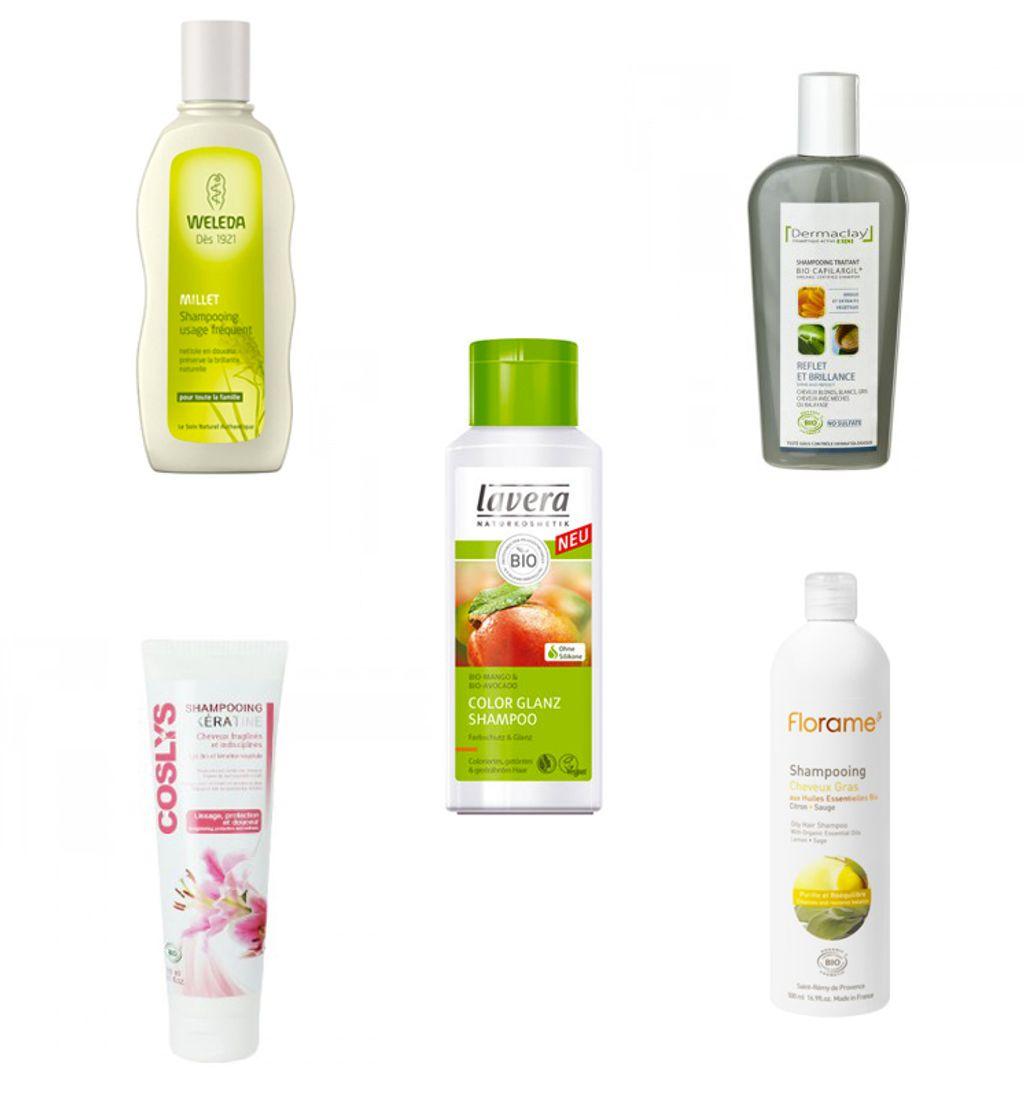 Cheveux : 5 shampoings bio pour avoir une belle chevelure