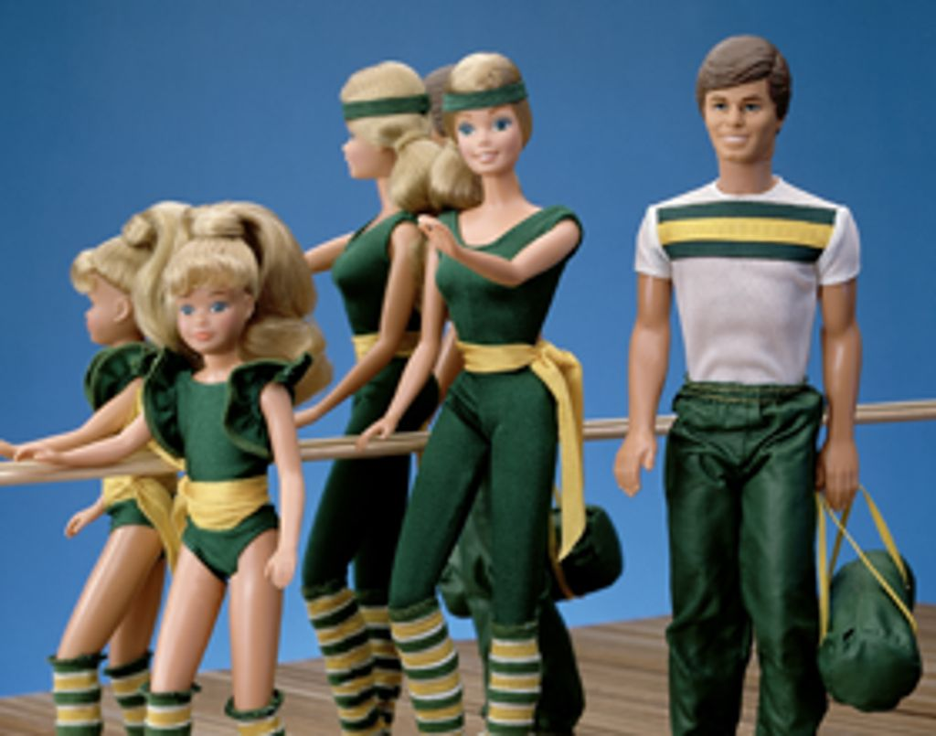 Barbie, une quinqua toujours aussi sportive