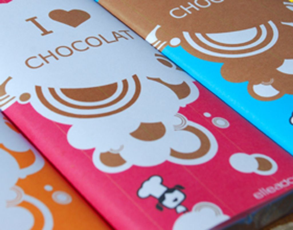 Je customise mes tablettes de chocolat